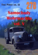 37344 - Ledwoch, J. - No 278 German Cars and Trucks of WW II Vol 5 (Tank Power Vol LI)