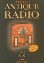 37547 - AAVV,  - Catalogo Antique Radio 2 Voll