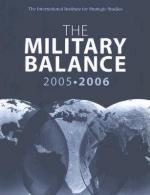 37629 - IISS,  - Military Balance 2005-2006