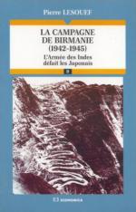 37839 - Lesouef, P. - Campagne de Birmanie 1942-1945 (La)