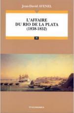 37844 - Avenel, J. - Affaire du Rio de La Plata 1838-1852 (L')