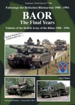 38019 - Blume, P. - Tankograd British Special 9006: BAOR The Final Years. Vehicles of the British Army of the Rhine 1980-1994