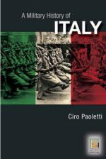 38193 - Paoletti, C. - Military History of Italy (A)