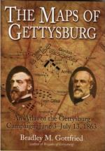 38371 - Gottfried, B.M. - Maps of Gettysburg. An Atlas of the Gettysburg Campaign, June 3-July 13, 1863