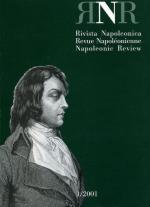 38408 - AAVV,  - Rivista Napoleonica Vol 03 - 1/2001