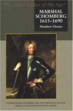 38454 - Glozier, M. - Marshal Schomberg 1615-1690. The ablest Soldier of his Age