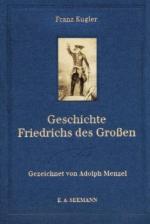38461 - Kugler-Menzel, F.-A. - Geschichte Friedrichs des Grossen