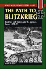 38480 - Citino, R.M. - Path to Blitzkrieg. Doctrine and Training in the German Army 1920-39 (The)