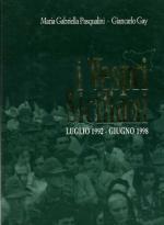 38524 - Pasqualini-Gay, M.G.-G. - Vespri siciliani. Luglio 1992 - Giugno 1998 (I)