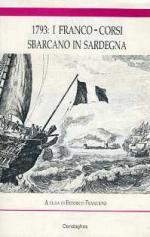38796 - Francioni, F. - 1793: I Franco-corsi sbarcano in Sardegna