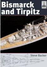 38934 - Backer, S. - Bismarck and Tirpitz - Shipcraft Series 10