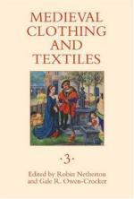 38962 - Netherton-Owen Crocker, R.-G. cur - Medieval Clothing and Textiles Vol 03
