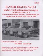 39116 - Jentz-Doyle, T.L.-H.L. - Panzer Tracts 15-1 Leichter Schuetzenpanzerwagen (Sd.Kfz.250) Ausf. A and B