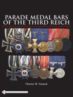 39692 - Yanacek, T. - Parade Medal Bars of the Third Reich