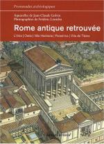 40312 - Lontcho-Golvin, F.-J.C. - Rome antique retrouvee. L'Urbs, Ostie, Villa Hadriana, Palestrina, Villa de Tibere