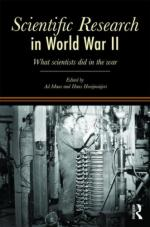 40702 - Maas-Hooijmaijers, A.-H. - Scientific Research in WWII. What Scientists Did in the War