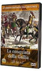 41080 - AAVV,  - Conquista della Gallia (La) DVD