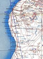 41224 - ,  - Cartina: Operational Area: Bengasi-Augila