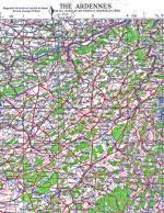 41262 - ,  - Cartina: Operational Area: Ardennes