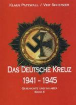 42003 - Patzwall-Scherzer, K.D.-V. - Deutsche Kreuz 1941-1945. Inhaber und Geschichte. Band I (Das)