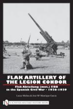 42201 - Molina, L. - Flak Artillery of the Legion Condor. Flak Abteilung (mot.) F/88 in the Spanish Civil War 1936-1939