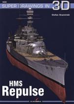 42303 - Draminski, S. - Super Drawings 3D 06: HMS Repulse