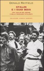 42341 - Rayfield, D. - Stalin e i suoi boia. Un'analisi del regime e della psicologia stalinista