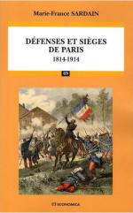 42582 - Sardain, M.F. - Defenses et sieges de Paris 1814-1914
