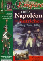 42879 - Gloire et Empire,  - Gloire et Empire 24: 1809 Napoleon en Autriche (2) Ebelsberg, Vienne, Essling