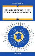 43123 - Blier, G. - Grandes batailles de l'histoire de France (Les)
