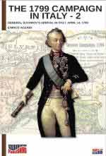 43477 - Acerbi, E. - 1799 Campaign in Italy Vol 2. General Suvorov's Arrival in Italy April 14, 1799