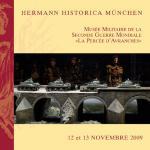44989 - AAVV,  - Hermann Historica Auction No. 58 - The World War II Museum 'La Percee d'Avranches'. November 12/13, 2009