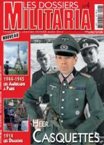 45039 - AAVV,  - Dossiers Militaria 04: Heer Casquettes