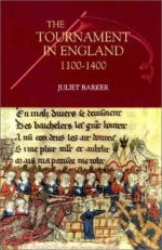 45783 - Barker, J.R.V. - Tournament in England 1100-1400 (The)