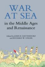 45787 - Hattendorf-Unger, J.B.-R.W. cur - War at Sea in the Middle Ages and the Renaissance