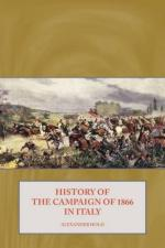 45859 - Hold, A. - History of the Campaign of 1866 in Italy