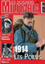 45894 - AAVV,  - Dossiers Militaria 05: 1914 les Poilus