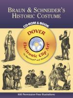 46013 - AAVV,  - Braun and Schneider's Historic Costume - Libro + CDROM