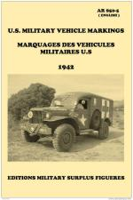 46229 - War Department,  - US Military Vehicle Markings/Marquages des Vehicules Militaires US