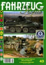 46319 - AAVV,  - Fahrzeug Profile 43: 2. Stryker Cavalry Regiment 'Second Dragoons' in Deutschland 2006-2007