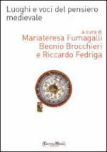 46683 - Fumagalli Beonio Brocchieri-Fedriga, M.-R. cur - Luoghi e voci del pensiero medievale