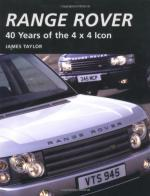 46802 - Taylor, J. - Range Rover. 40 Years of the 4 x 4 Icon