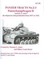 46953 - Jentz-Doyle, T.L.-H.L. - Panzer Tracts 02-3 Panzerkampfwagen II Ausf. Ausf.D, E, und F