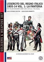 47498 - Cristini-Aimaretti, L.-G. - Esercito del Regno Italico 1805-1814 Vol 1: La Fanteria (L')