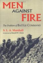 47516 - Marshall, S.L.A. - Men against fire. The problem of battle command