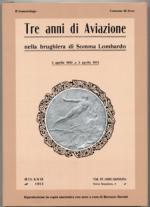 47555 - Turrini, R. cur - Tre anni di Aviazione nella brughiera di Somma Lombardo