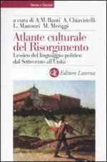 48017 - AAVV,  - Atlante culturale del Risorgimento. Lessico del linguaggio politico dal 700 all'unita'