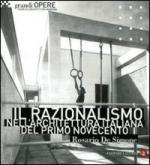 48020 - De Simone,  - Razionalismo nell'architettura italiana del primo Novecento (Il)