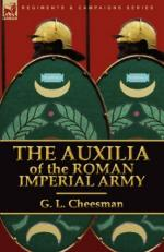 48268 - Cheesman, G.L. - Auxilia of the Roman Imperial Army (The)