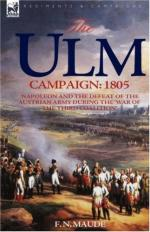 48791 - Maude, F.N. - Ulm Campaign 1805 (The)